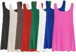 SALE! Round Neck Sleeveless Plus Size & Supersize Swim Tank Tops Many Colors! 0x 1x 2x 3x
