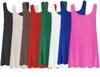 CLEARANCE! Plus Size Round Neck Sleeveless Swim Tank Tops Many Colors! 0x 1x 2x 3x 4x 7x 8x 9x