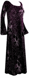 SOLD OUT! Gorgeous Black & Lavender Glittery Plus Size & Supersize Customizable Evening Shirt or Jacket Lg to 2X