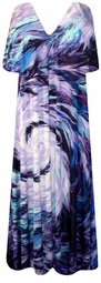 SOLD OUT! Gorgeous Purple Feather Slinky Plus Size & Supersize Customizable Shirts or Jackets Lg to 9x
