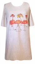 SOLD OUT! Gray Hot Pink Flamingos Plus Size T-Shirts 6XL