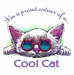 SOLD OUT!!!I'm a Proud Owner of a Cool Cat! Plus Size & Supersize T-Shirts S M L XL 2x 3x 4x 5x 6x 7x 8x