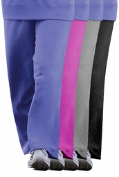 SOLD OUT! SALE! Magenta  Relaxed Fit Plus Size Fleece Pants 2x