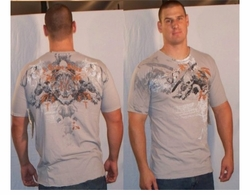 SOLD OUT! Monarchy Light Gray Plus Size T-Shirt Skull & Sword XXXL 3xl (Unisex)