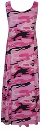 SOLD OUT! New! Pink Black & White Camo Plus Size & Supersize Princess Cut Dress 6x