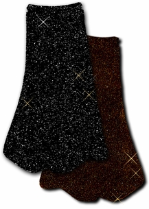 SOLD OUT! Overstock! Sale! Black Glimmer / Brown Slinky Glitter Plus Size & Supersize Skirts 1x 2x 4x 5x 6x 7x
