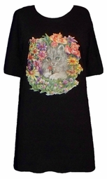 SOLD OUT!!!! Pretty Kitty Garden Plus Size & Supersize T-Shirts 4XL 5XL 6XL 7XL 8XL