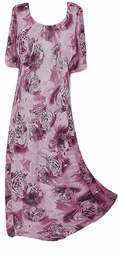 Sold Out!!!! Purple & silver Tigers Sparkly Princess Cut Dress Plus Size & Supersize  6x
