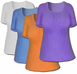 sold out!!!!!!!!!!!!!!Reduced! SALE! Just my Size Ultra Soft Cotton Short Sleeve Plus Size Shirts 1x