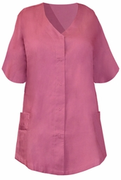 SOLD OUT!!!!SALE!  Beautiful Mauve Plus Size Scrub Top 4xl