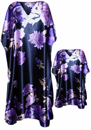 SOLD OUT!!!!!!!!!!!!! SALE!!! Beautiful Purple Floral Caftan Dresses & Shirts - Fits 1x to 7x