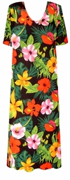 SOLD OUT! SALE! Beautiful Tropical Floral Slinky Plus Size & Supersize Customizable Dresses, Shirts & Jackets Lg to 9x