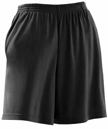 SOLD OUT!!!!!!!!! SALE! Black Knit Plus Size Elastic Waist Pocket Cotton Shorts 6x