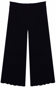 SOLD OUT!~ Sale!!! Black Wide Leg Palazzo Pants with Elastic Waist in Slinky! Plus Size & Supersize Lg  Xl 1x 2x 3x 4x 5x 6x
