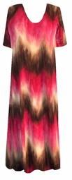 SOLD OUT!!!!!!!!!! SALE! Chocolate Strawberry Swirl Slinky Plus Size & Supersize  Shirts 6X