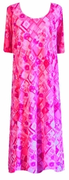 SOLD OUT!!!!!SALE! Pink Floral Sequins Princess Cut Plus Size & Supersize Dresses  5x 6x