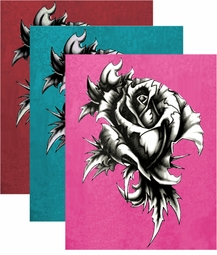 SOLD OUT!!! SALE! Pink or Teal or Burgundy Tattoo Rose Plus Size & Supersize T-Shirt 3x 4x 5x 6x 7x 8x