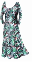 SOLD OUT!!!!!!!!!! Sale!!!! Pretty Abstract Lightweight Summer Slinky Print Plus Size & Supersize  Dress 0x