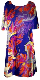 SOLD OUT!!!!!!!!!!!!!!SALE! Purple Plus Size Shirt with Gorgeous Colorful Butterflies 2x