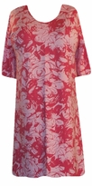 SOLD OUT!!!!!!!!!SALE! s6070 Red & Pink Roses Plus Size & Supersize T-Shirts 1x