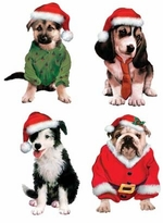 SOLD OUT!!! Santa's Puppies #1 - Plus Size & Supersize Dog T-Shirts S M L XL 2x 3x 4x 5x 6x 7x 8x