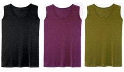 SOLD OUT! Slinky Solid Color Tank Tops 3x 4x 5x