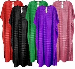 SOLD OUT!!!!!!!!!!! Sparkly Embellished Embossed Poly/Satin Plus Size & Supersize Caftan Dress 1x to 6x