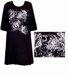 SOLD OUT!!! Whispy Butterfly Plus Size T-Shirts