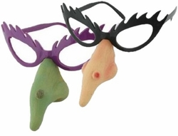 SOLD OUT! Witch Glasses & Nose - Halloween Costume Accessory