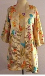 SOLD OUT! Yellow Daisies Plus Size Nighty & Robe Set 1x