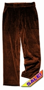 FINAL CLEARANCE SALE! Yummy Soft Dark Brown Velvety Velour Plus Size Pull-On Pants Sizes 1x 2x