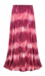 d94b0ea87a3 SALE! Customizable Pink Abstract Slinky Print Plus Size   Supersize Skirts  - Sizes Lg XL