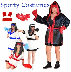 Sports Fans! Sporty Plus Size Costumes