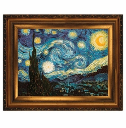 SOLD OUT!!1Starry Night Painting Plus Size & Supersize T-Shirts S M L XL 2x 3x 4x 5x 6x 7x 8x (Lights Only)