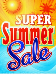 <font color=red><b><center><font size=5>2015 SUMMER BLOWOUT SALE!!<br>Save up to 50% Off Current Sale Prices!</b></font>