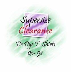 Supersize Closeout Tiedye 0x to 8x