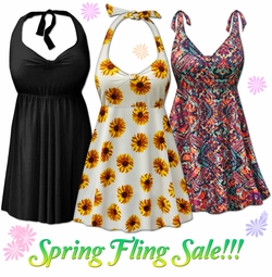 Spring Fling Plus Size Swimwear on Sale!