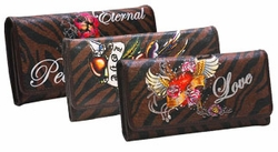 Tattoo Print Wallets