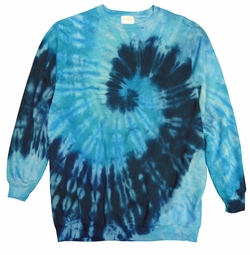 NEW! Plus Size Bermuda Swirl Tie Dye Print Long Sleeve Sweatshirt 2x 3x 4x