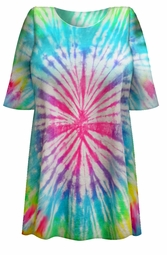 SALE! Easter Egg Pastel Tie Dye Plus Size T-Shirt L XL 2x 3x 4x 5x 6x