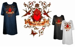SOLD OUT! FINAL SALE! True Love in Color Plus Size & Supersize T-Shirts 4x