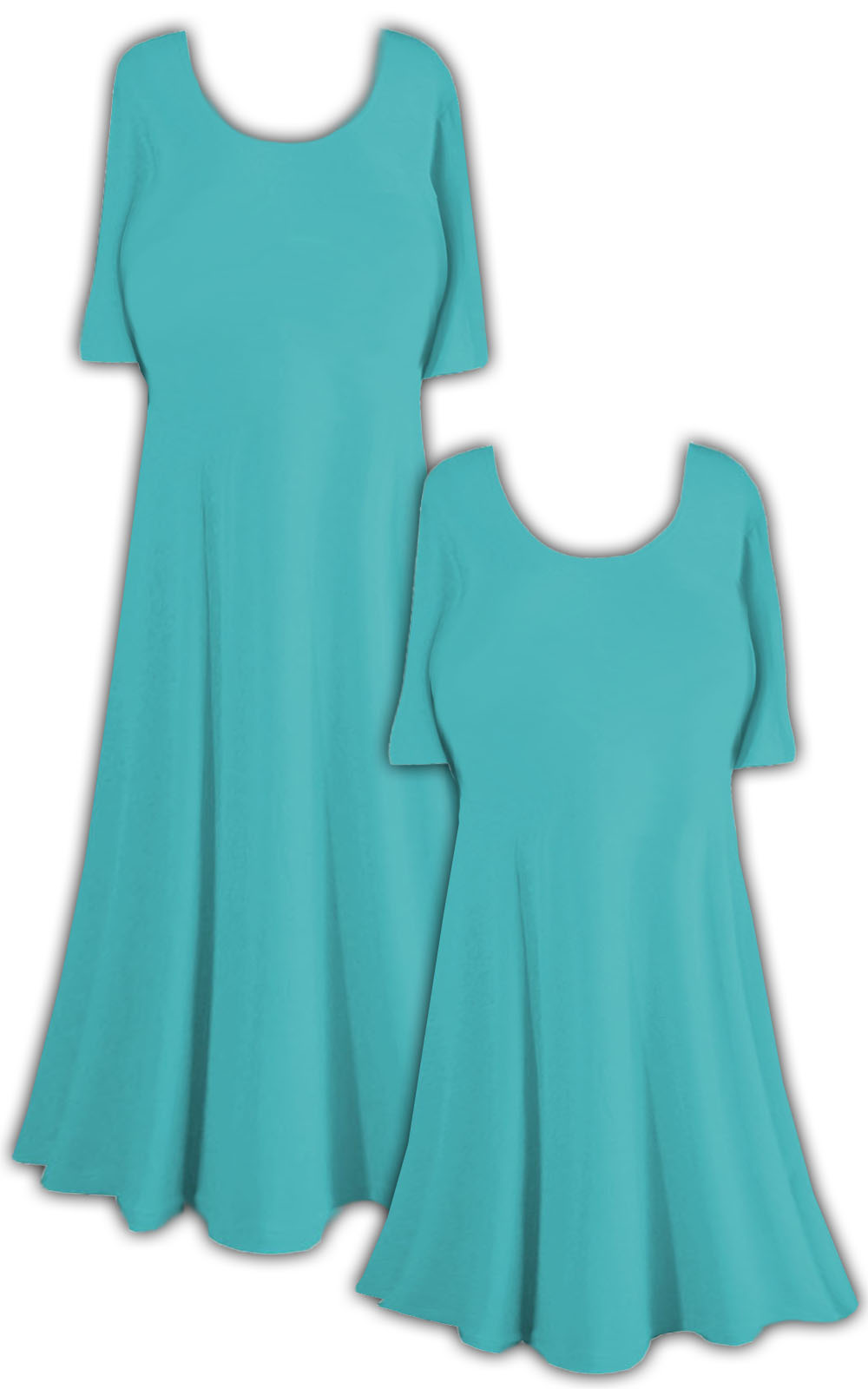 Turquoise slinky princess cut short sleeve plus size for Size 5x mens dress shirts