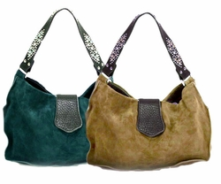 SOLD OUT! Tylie Malibu Suede Shorty Utility Bags