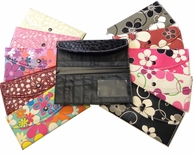 SALE! WALLETS! Assorted Colors & Styles 1.97 each or TWO FOR $2.97!