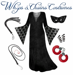 Whips & Chains Plus Size Costumes