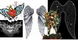 "<font size=""3"" color=""purple""><b><center>Wings Faeries Angelic Devilish Royalty <br></b><font size=""1"" color=""purple""></font>"