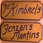 "style -BR- 7.25""x 16"" formal-edge Cedar Sign"