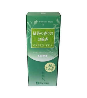 Green Tea (Senohcha) Incense - Smokeless - Baieido