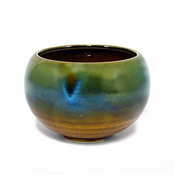Incense Bowl-Seascape