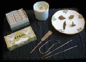 Kodo Style Incense Kit - (porcelain traditional)